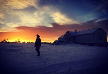 Filipe at sunset