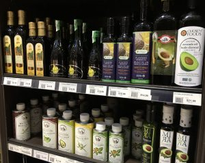 Variety of Oils