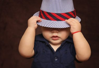 Baby in hat