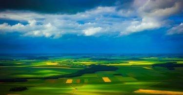 Aerial Landscape View