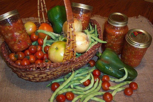 Veggies and canning