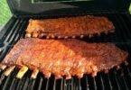 Ribs on BBQ