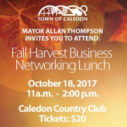 Ad for Mayors Business Lunch