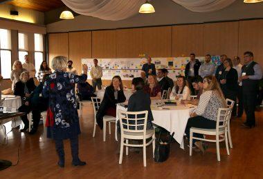 Group shot at SNAP meeting