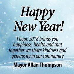 Mayor's Happy New Year