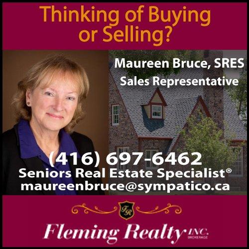 New Maureen Bruce ad