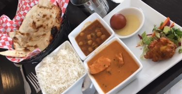 Curry meal