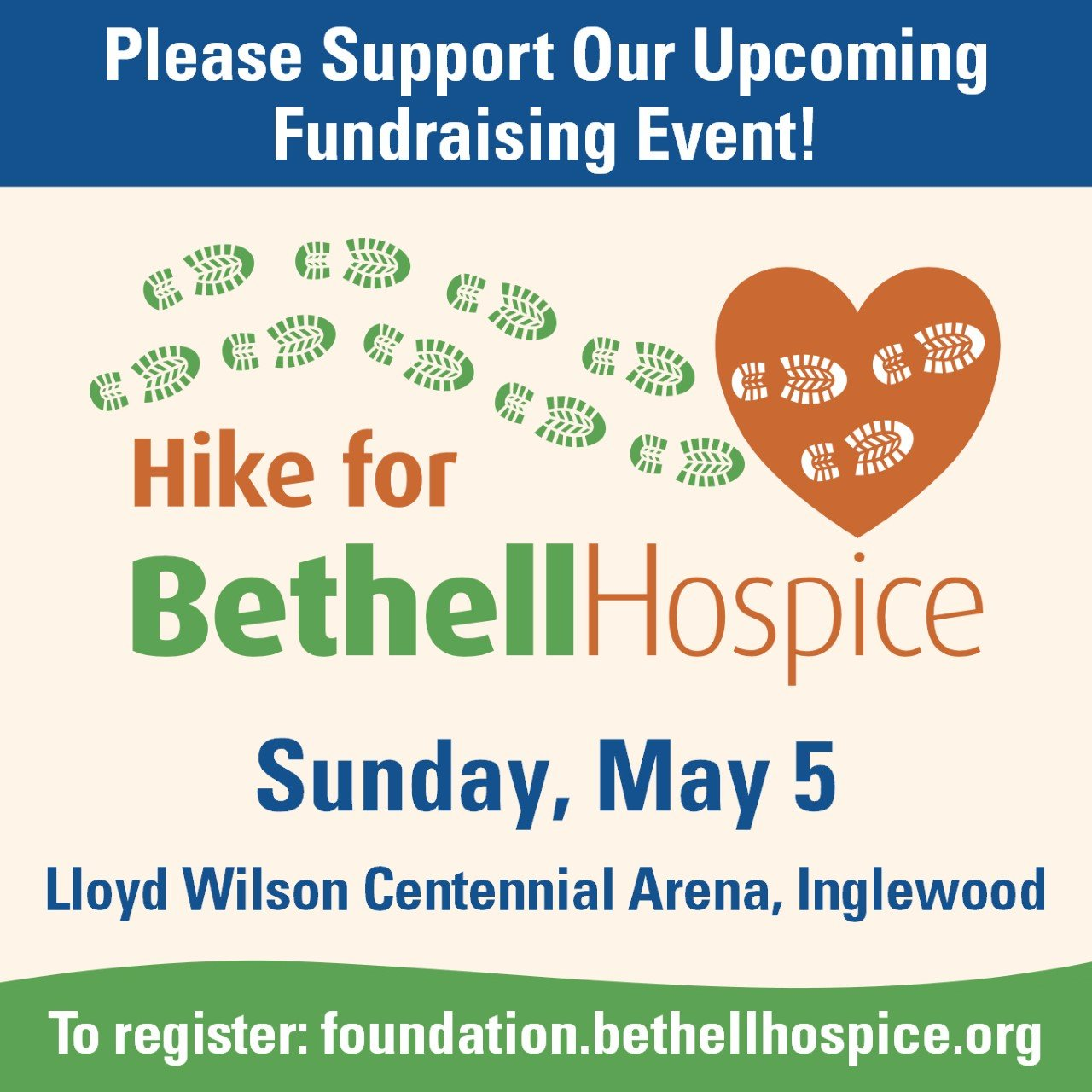 Bethell Hospice Hike Ad