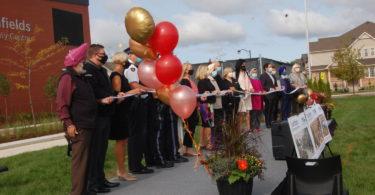 Southfields ribbon cutting ceremony