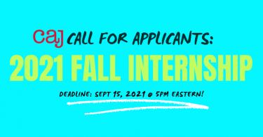 Internship Applications Notice