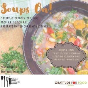 Soup's On Flyer