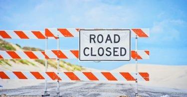 Road CLosed Signage