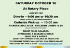 CSC Pancake Fundraiser event